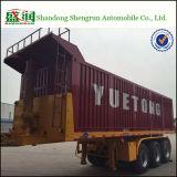 3 Aanhangwagen van de Vrachtwagen van de Stortplaats van de Container van assen 20FT de Semi/de Aanhangwagen van de Kipper
