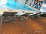 Напольный стул салона Chasie, стул софы пляжа Lounger Sun (JJCL-31)