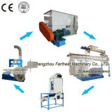 De gemakkelijke Geïnstalleerdep Plant van de Verwerking van het Dierenvoer van het Gebruik van het Landbouwbedrijf