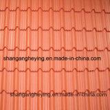 Couleur en acier galvanisée Gi/PPGI/Gl enduit de tôle d'acier de toiture