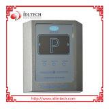 Programa de lectura del control de acceso de RFID para el estacionamiento