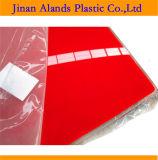 Feuille en plastique acrylique claire de moulage