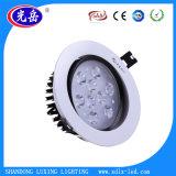 Suministros de fábrica de techo LED 9W de las luces de la Olla con Ce/RoHS