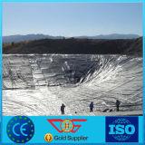 HDPE plástico Geomembrane de la película del constructor de la arpillera concreta