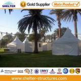작은 3X3m Aluminum PVC Event Outdoor Party Marquee Decorated Wedding Fabric White Gazebos Tents