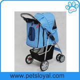 Hersteller-Qualitäts-zusammenklappbarer Haustier-Laufkatze-HundeSpaziergänger