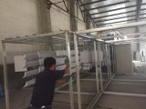 Cabina di spruzzo del rivestimento della polvere con la strumentazione a temperatura elevata di cottura