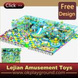 Fr1176 Soft coloré thème du château de terrain de jeux intérieur (T1403-11)