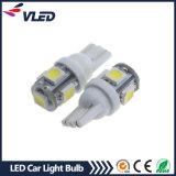 Lampadina dell'automobile di alto potere 12V W5w T10 5050 5SMD 1.5W LED