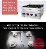 Oberseite-Gas-Reichweiten-Edelstahl-Kocher des Tisch-6-Burner (HGR-66)