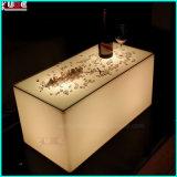 Il LED ha illuminato la Tabella quadrata illuminata LED della Tabella KTV della mobilia