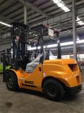 Forklift novo do deslocador do lado do diesel do Fork-Lift 3t China 6m