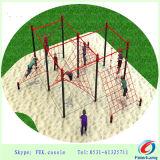 Strumentazione esterna del parco di divertimenti di ginnastica del campo da giuoco del bambino di forma fisica
