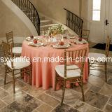 Le linge de table en satin ronde (WLTC021)