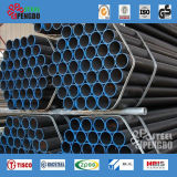 Fabricant de tuyaux en acier de soudure / noir Tuyau en acier soudé