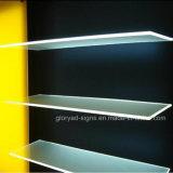 Mettez en surbrillance l'acrylique Guide lumière Eclairage LED du panneau de bord