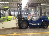 Aufzug-LKW-Diesel 3 Tonnen-Ballen-Schelle-Gabelstapler nach Vietnam