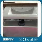 流し(SW-1303)が付いている2016の新しい光沢のある豪華な浴室用キャビネット