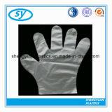 Устранимые перчатки пластмассы перчаток PE