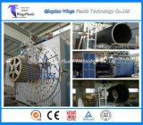 3000mm de HDPE Parede oco do tubo do perfil de dissolução da linha de produção / Fábrica de máquinas