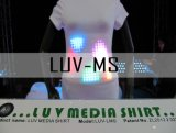 Luv Media Shirt, knipperend T-shirt (LUV-MS)
