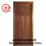 緑の環境の実質の木製のドア
