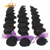 100 % de la cuticule vague profonde lâche le mongol Virgin Remy Hair Extension