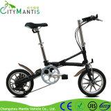 Folding Bike新しいデザイン14インチ7の速度の炭素鋼の女性の