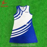 Healong neueste Entwurfs-Sport-Abnützung-Sublimation-Damennetball-Kleider für Verkauf