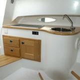 barco do cruzador de cabine da fibra de vidro de 23FT para a venda