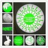 Bester verkaufenled-GlasfirmenzeichenGobo für Projektor
