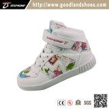 Chaussures élevées de gosses de chaussures d'enfants d'espadrilles de mode de chaussures de patin de qualité 16017-2
