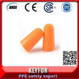 Bon marché De la mousse de PU Bullet-Shaped de bonne qualité de la sécurité de l'oreille plug fabricant