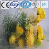 세륨으로 건축을%s 3-8mm 부유물 또는 부드럽게 한 꽃 장식무늬가 든 유리 제품