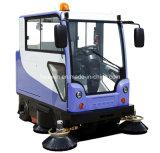 Tous Route fermée électrique Ride on Sweeper Machine Cleaner