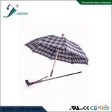 Canne intelligente avec la durée de vie de lampe-torche de l'alarme SOS de radio et de parapluie