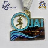 Medalla rotativa para los deportes corrientes