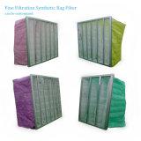 企業の換気装置のための中型の効率の化学繊維のバッグフィルタ