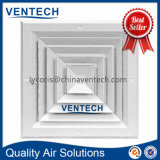Алюминиевый центральный отражетель потолка отражетеля квадрата кондиционирования воздуха