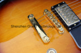 Guitarra superior de mogno do Lp do Fingerboard do Rosewood do corpo e da garganta (GLP-99)