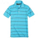 Het manier Afgedrukte Overhemd van het Katoenen/van de Polyester Polo van het Golf (P004)