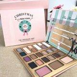 La Navidad también hecha frente en gama de colores de la sombra de ojo del maquillaje del polvo presionado del color de las nuevas obras 24