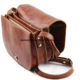 磨かれた子牛革の革-女性革製バッグハンドバッグ