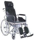 접히고는/분말 코팅 강철/경량 휠체어