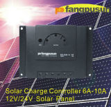 Change solaire Controller 6A-10A, 12V/24V