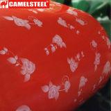 강철 코일 꽃 패턴 디자인이 색깔에 의하여 입힌 강철에 의하여 감긴다 PPGI