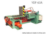 Máquina empacadora máquina de briquetas máquina máquina de la prensa de metal Baler hidráulico para Manual de Aluminio Hierro (FDY-63A)