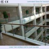Toughened стекло для стеклянного поручня загородки и стекла