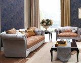 居間の家具のためのジャカードファブリックソファー