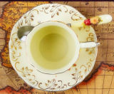 Tazza di caffè di ceramica della porcellana della tazza di caffè di disegno elegante